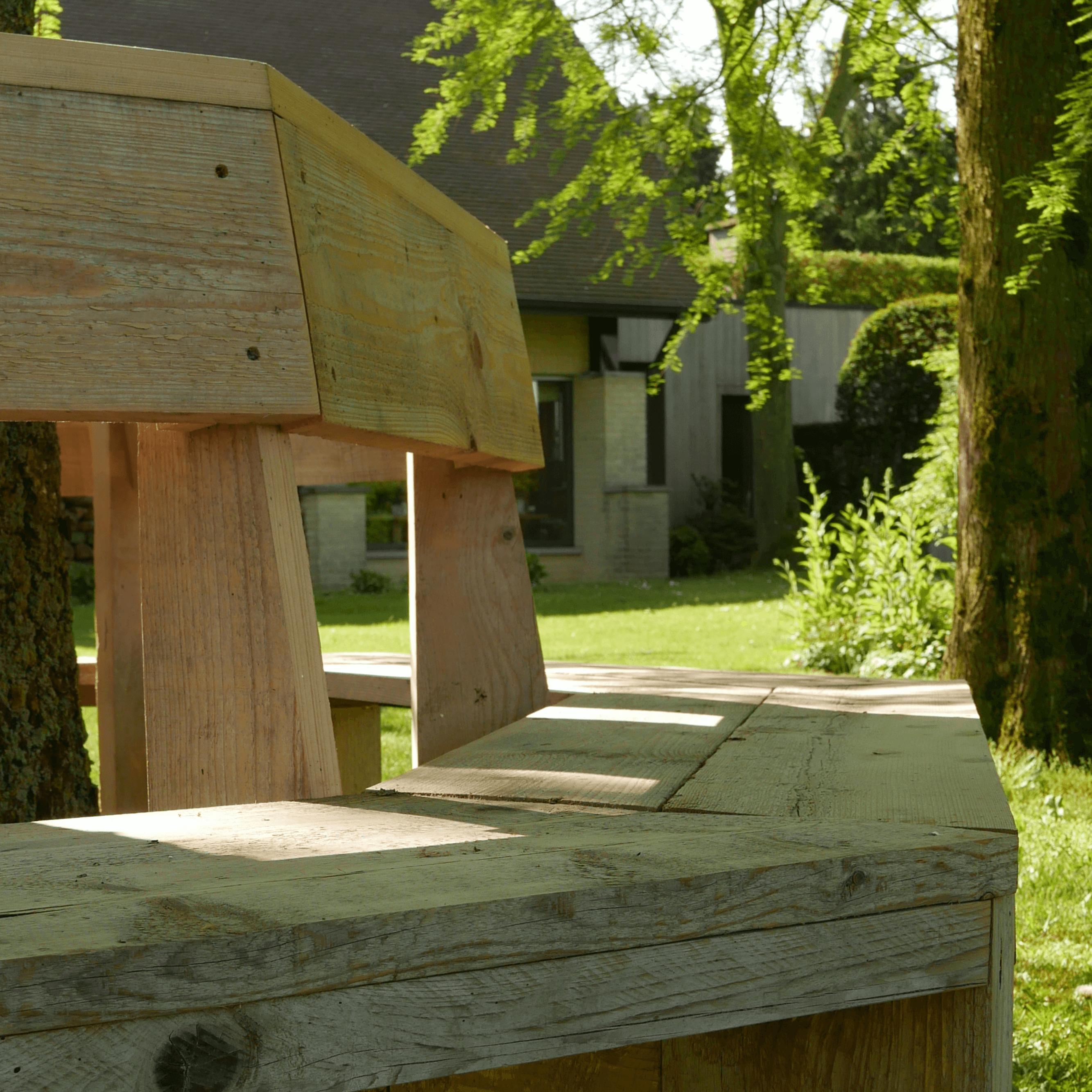 Dieudonné Banc De Jardin Circulaire Ann Bonami Meubel